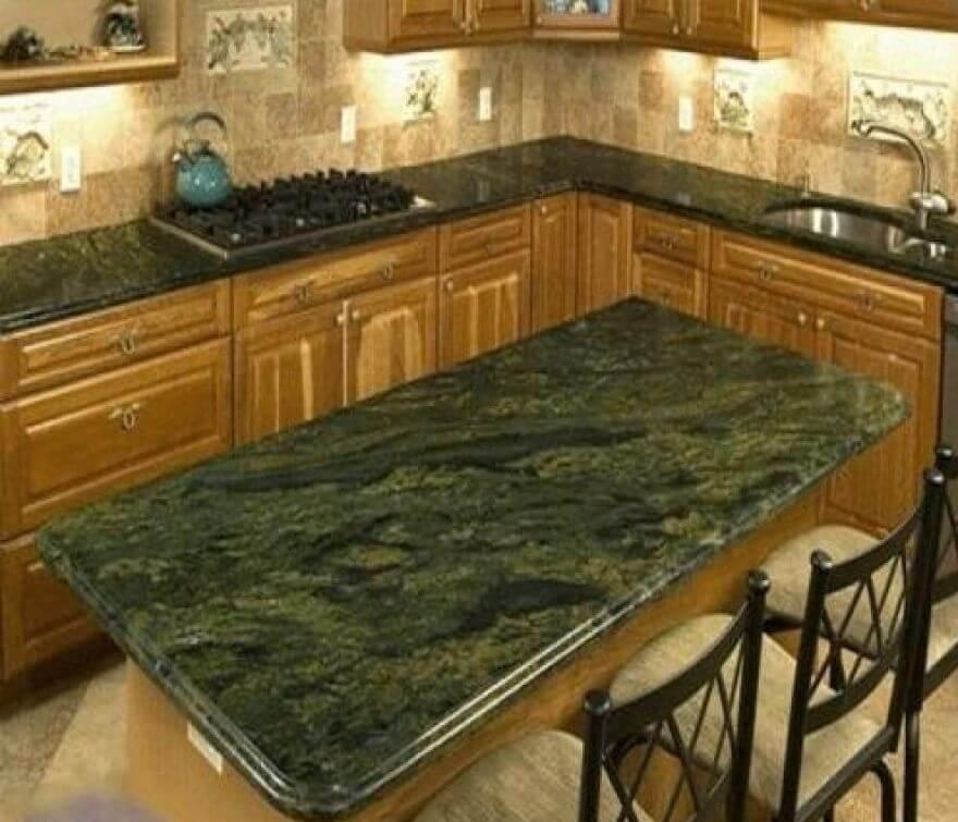 verde bahia granit mutfak tezgah